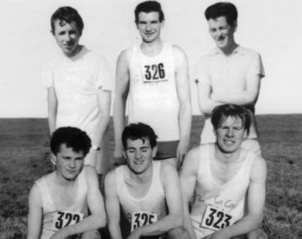Back L-R- Con Duffy, Eamon Giles, Enoes McBride Front L-R- Pat Marley, John Walsh, Bill Hunter