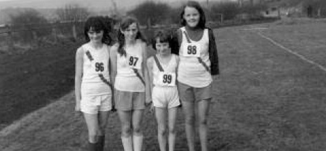 Grace Boyce, Grace McLaughlin, Rose Gavaghan, Marjorie McCallum pictured after competing in the Ulster Championship.