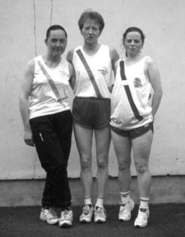 In March Cranford ladies team finished 2nd in the road relay in Glaslough- the team were Bridie Trearty, Rose Gavaghan and Julie Ann McAteer.