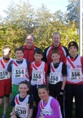 Cranford AC at Ulster Cross Country