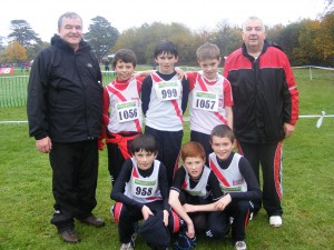 Cranford A.C. at All-Ireland Cross Country