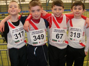 CRANFORD AC AT ULSTER INDOORS
