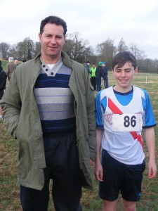 Cranford A.C. at All Ireland Cross Country