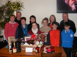 CRANFORD AC CHRISTMAS HAMPER DRAW