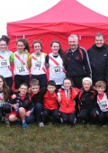 All Cranford athletes and coaches including the U-17 Girls Team of Niamh Kelly, Grace Trearty, Brónach Gallagher and Eleanor Trearty who won 1st Team in this event.