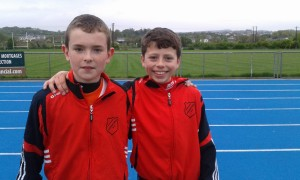 Eoghan and Dylan u/13 Boys