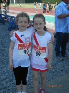 Clodagh and Blathnaid in Tullamore.