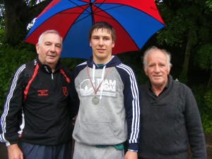 EAMON WITH CHRISTOPHER AND JOHN.