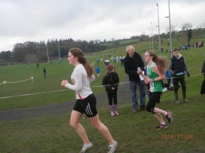 Ciara Murray who competed in the Girls u/17.