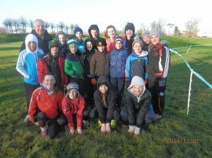 Cranford A.C. Athletes who competed in Santry.
