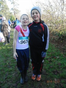 Michelle and Rionach our u/15 Girls.