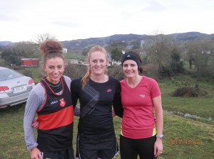 Gillian Marley Lucy Backus and Sinead Peoples.