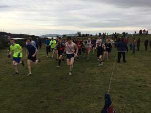 start of the Boxing Day Race 2014.