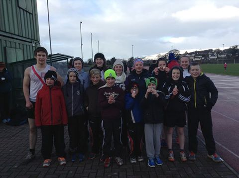 Great day out at Templemore Stadium in Derry for the Olympian AC winter track and field competition. Well done to all the Athletes