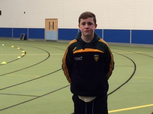 Barry Donnelly who took part in the  boys u//14 shot putt,