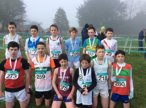 Dylan Dorrian who came in 7th in the boys u/13.