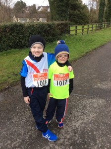 Michael who came 2nd and Diarmuid who ran in the U/10 boys.