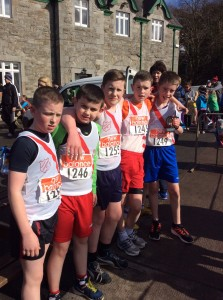 Killian,Allan,Barry,Eoin and Martin who came 2nd in the boys u/14.