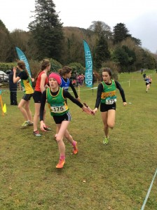 Molly in action in the girls u/14