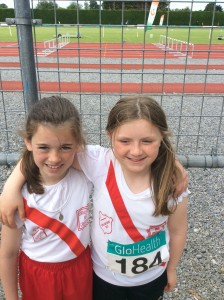 Caoimhe Browne and Orla Neely our u/11 Girls.