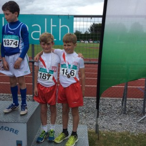 Cian mc Menamin and Max Roarty our U/11 boys who got bronze all Ireland medals.