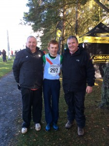 Kevin Logue with Eamon and Joe.