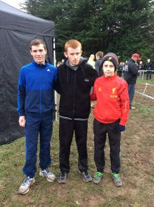 Eoin Kelly with Kevin and Eoin Logue.