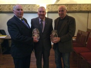 Paddy Marley, Eamon Giles and Hugo Duggan.