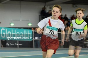 Oisin Kelly on his way to victory.