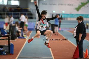 Liam Donnelly who competed in the long jump.