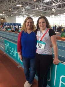 Aoife with proud mum Shauna.