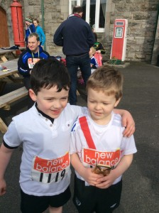 James MC Daid and Killian Caldwell. Boys u/8