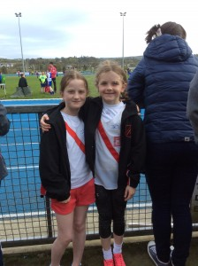 Blathnaidh and Clodagh our U11 girls.