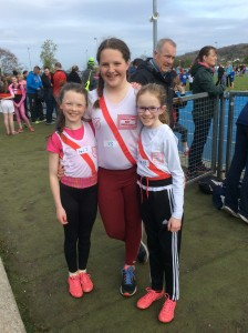 Sophie Curran, Aoife Giles and Caitlin o Hara our u/13 girls.