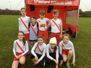 Cranford AC Girls and Boys U/12.