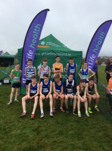 Johnny McGroddy who came 10 th in the boys U/15