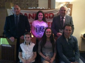 Paddy Marley, Aoife Giles, Eamon Giles, Oisin Kelly Molly Trearty and Tom Kelly.