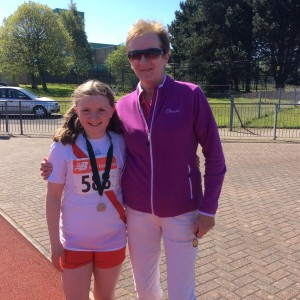 Orla Neely' with Rose Gavaghan