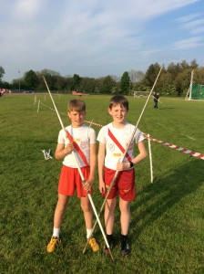 Max Roarty and Johnny Trearty who both won medals in Lifford.