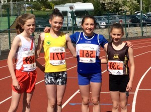 Teresa who came 3rd in the 60m sprint