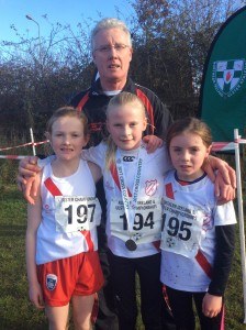 Cranford AC u 11 Girls with Jerry Gallagher