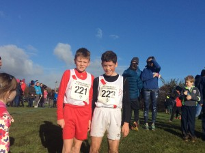 Oisin Mc Nulty and Martin Doughra