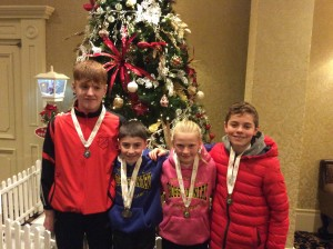 Our medal winners Johnny Caolan Miah and Oisin