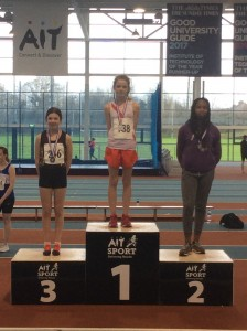 Teresa Mullen who won the Girls U14 long jump.