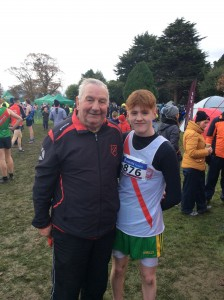 Johnny McGroddy with Eamon Giles